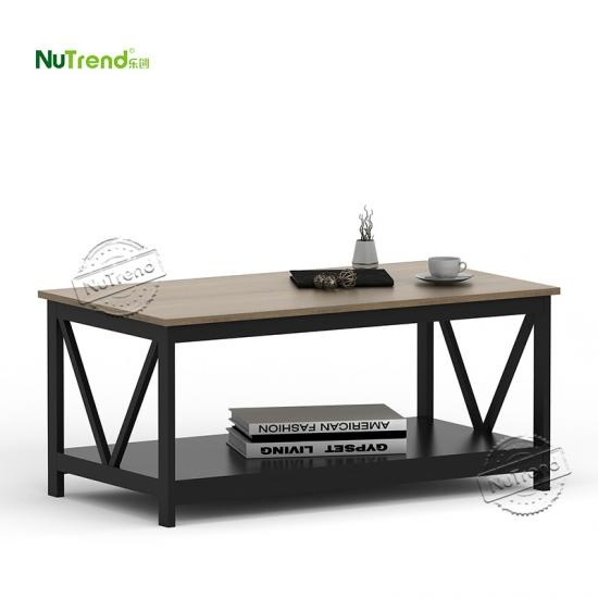 wholesale Classical Black Walnut Wooden Coffee Table Furniture Factory China